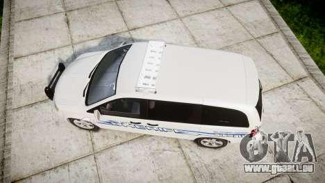 Dodge Grand Caravan [ELS] Liberty County Sheriff für GTA 4 rechte Ansicht