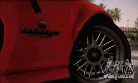 GTA 5 Bravado Banshee pour GTA San Andreas sur la vue arrière gauche