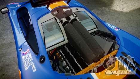 McLaren F1 1993 [EPM] Gulf 34 pour GTA 4 est un côté