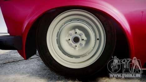 VAZ-21067 pour GTA 4 Vue arrière