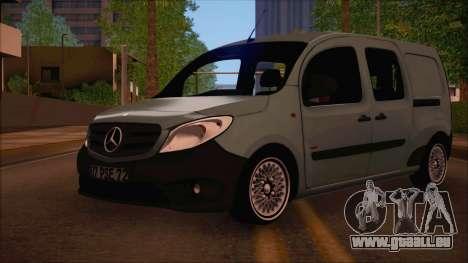 Mercedes-Benz Citan Stock 2013 für GTA San Andreas