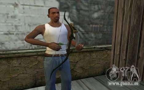 Green Arrow Bow v1 pour GTA San Andreas troisième écran