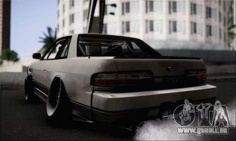 Nissan Silvia S13 Slammed pour GTA San Andreas laissé vue