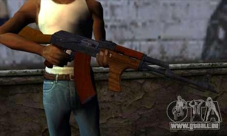 Romanian AKM für GTA San Andreas dritten Screenshot