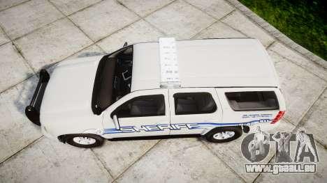 Chevrolet Tahoe [ELS] Liberty County Sheriff pour GTA 4 est un droit