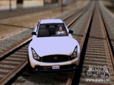 Fathom FQ2 GTA V für GTA San Andreas linke Ansicht
