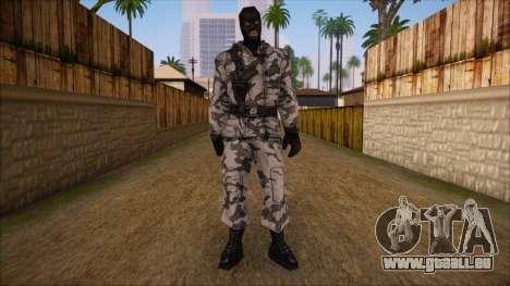 Artic from Counter Strike Condition Zero pour GTA San Andreas