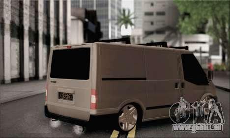 Ford Transit für GTA San Andreas linke Ansicht