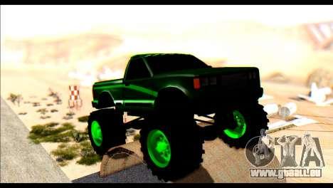 City Destroyer v2 pour GTA San Andreas laissé vue
