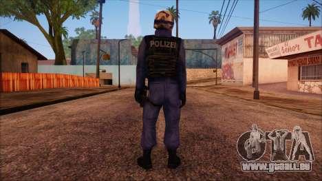 GSG9 from Counter Strike Condition Zero pour GTA San Andreas deuxième écran