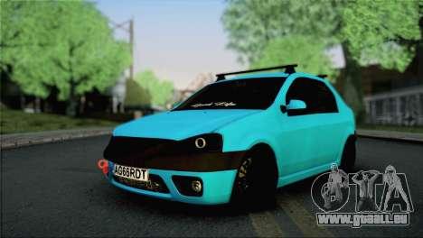 Dacia Logan Simply Clean für GTA San Andreas