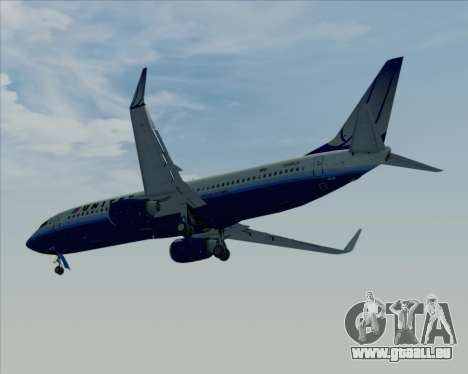 Boeing 737-800 United Airlines pour GTA San Andreas