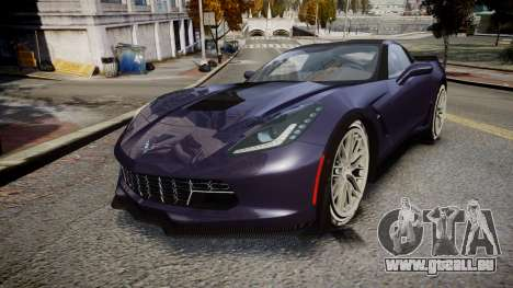 Chevrolet Corvette Z06 2015 TireMi4 für GTA 4