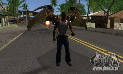 Jetpack from Batman Arkham Origins pour GTA San Andreas troisième écran