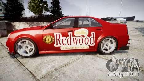 Albany Presidente Racer [retexture] Redwood pour GTA 4 est une gauche