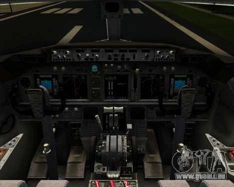 Boeing 737-800 United Airlines pour GTA San Andreas moteur