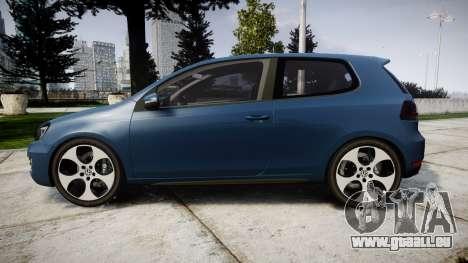 Volkswagen Golf GTI 2010 pour GTA 4 est une gauche