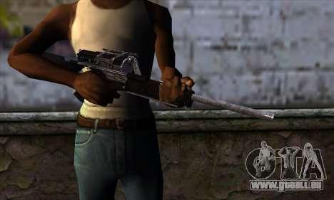 Calico M951S from Warface v1 pour GTA San Andreas troisième écran