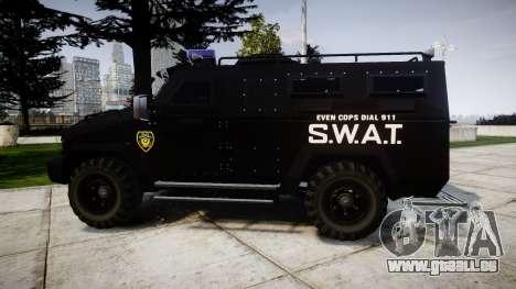 SWAT Van [ELS] pour GTA 4 est une gauche