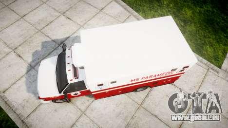 Brute V-240 Ambulance [ELS] für GTA 4 rechte Ansicht