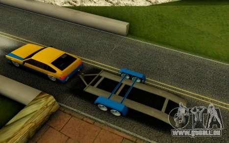 Trailer für GTA San Andreas zurück linke Ansicht