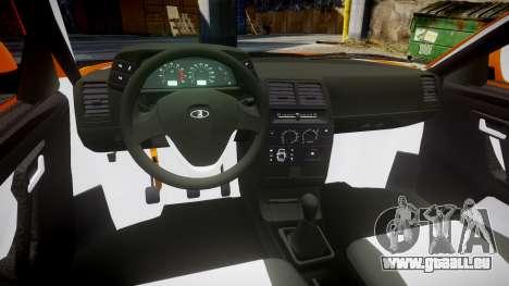 ВАЗ-2110 Bogdan rims1 pour GTA 4 Vue arrière