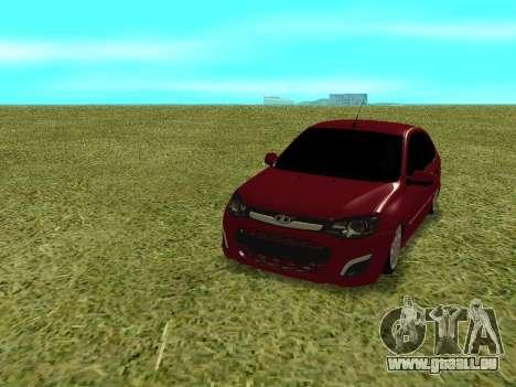 Lada Granta Kalina 2 pour GTA San Andreas vue arrière