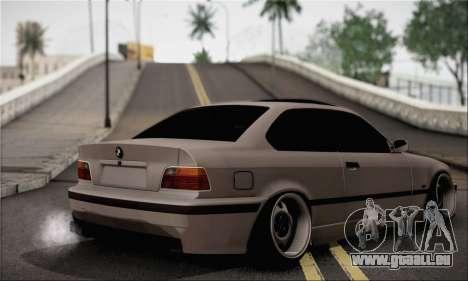 BMW M3 E36 Bosnia Stance pour GTA San Andreas laissé vue