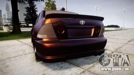 Toyota Altezza für GTA 4 hinten links Ansicht