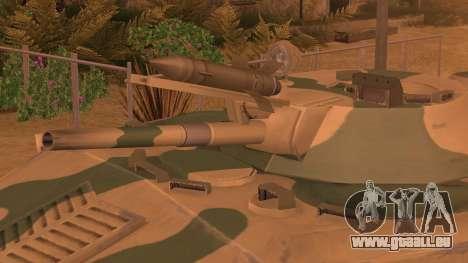 DMO-1 à partir de l'ArmA Armed Assault Camouflag pour GTA San Andreas sur la vue arrière gauche