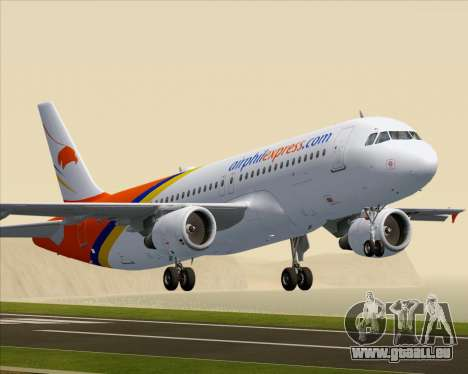 Airbus A320-200 Airphil Express pour GTA San Andreas