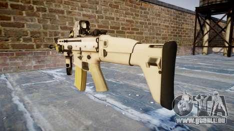 La Machine FN SCAR-L Mc 16 icon2 pour GTA 4 secondes d'écran
