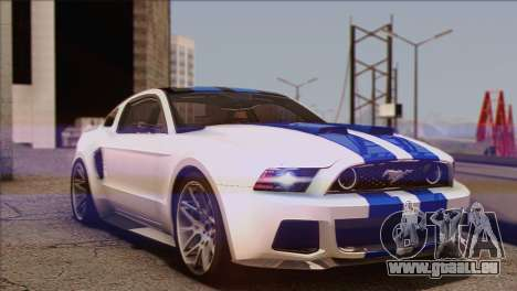 Ford Mustang GT 2012 pour GTA San Andreas