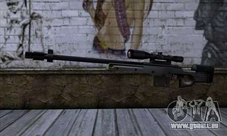 AW50 from Far Cry pour GTA San Andreas