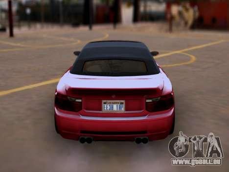 La supériorité de Sion convertibles GTA V pour GTA San Andreas vue de droite