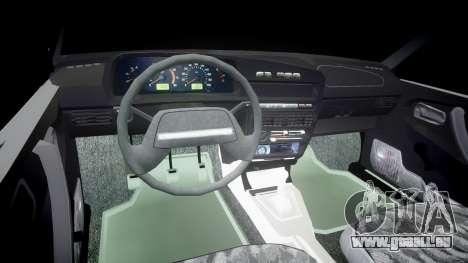 AIDE-2109 hobo pour GTA 4 Vue arrière