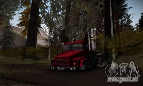 Piste off-road 2.0 pour GTA San Andreas troisième écran