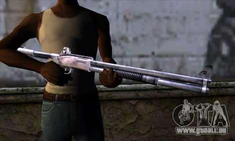 Chromegun Standart pour GTA San Andreas troisième écran