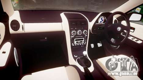 Toyota Altezza für GTA 4 Rückansicht