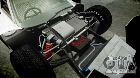 Ford GT40 Mark IV 1967 PJ Arnao Racing 74 für GTA 4 obere Ansicht