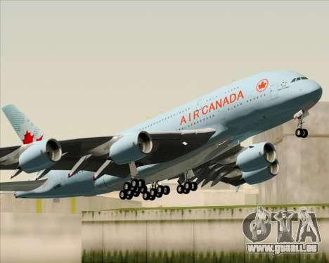 Airbus A380-800 Air Canada für GTA San Andreas