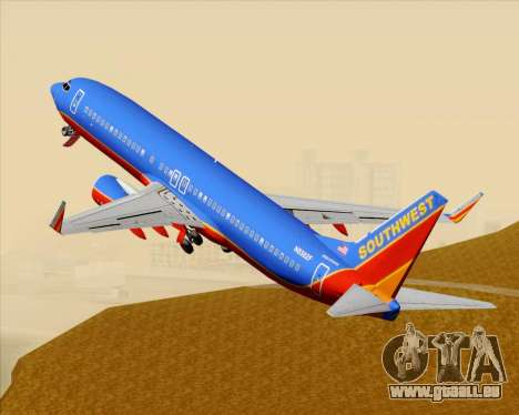 Boeing 737-800 Southwest Airlines für GTA San Andreas
