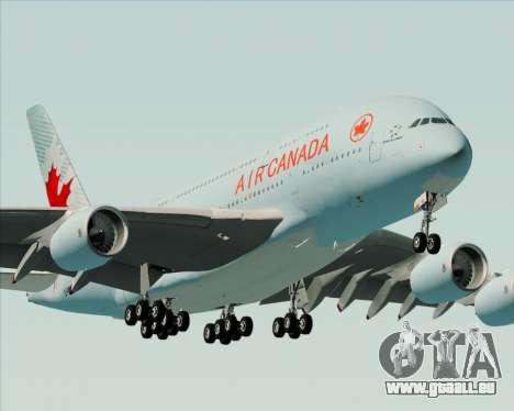 Airbus A380-800 Air Canada pour GTA San Andreas moteur