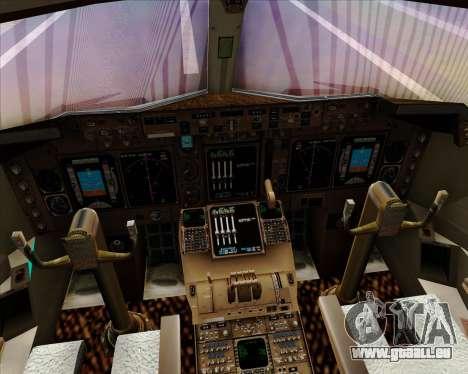 Boeing 747-400 Aer Lingus für GTA San Andreas Innen