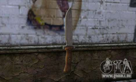 Daryl Knife from The Walking Dead pour GTA San Andreas