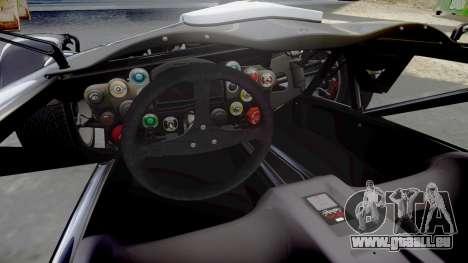 Ariel Atom V8 2010 [RIV] v1.1 Bolton Touristic pour GTA 4 est une vue de l'intérieur