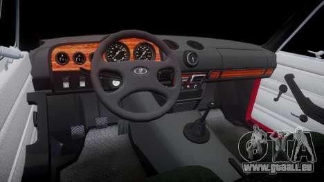 VAZ-21067 pour GTA 4 est une vue de l'intérieur