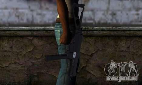 UMP45 v1 pour GTA San Andreas troisième écran