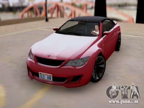 Überlegenheit von Zion Cabrio GTA V für GTA San Andreas