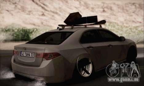 Honda Accord pour GTA San Andreas laissé vue